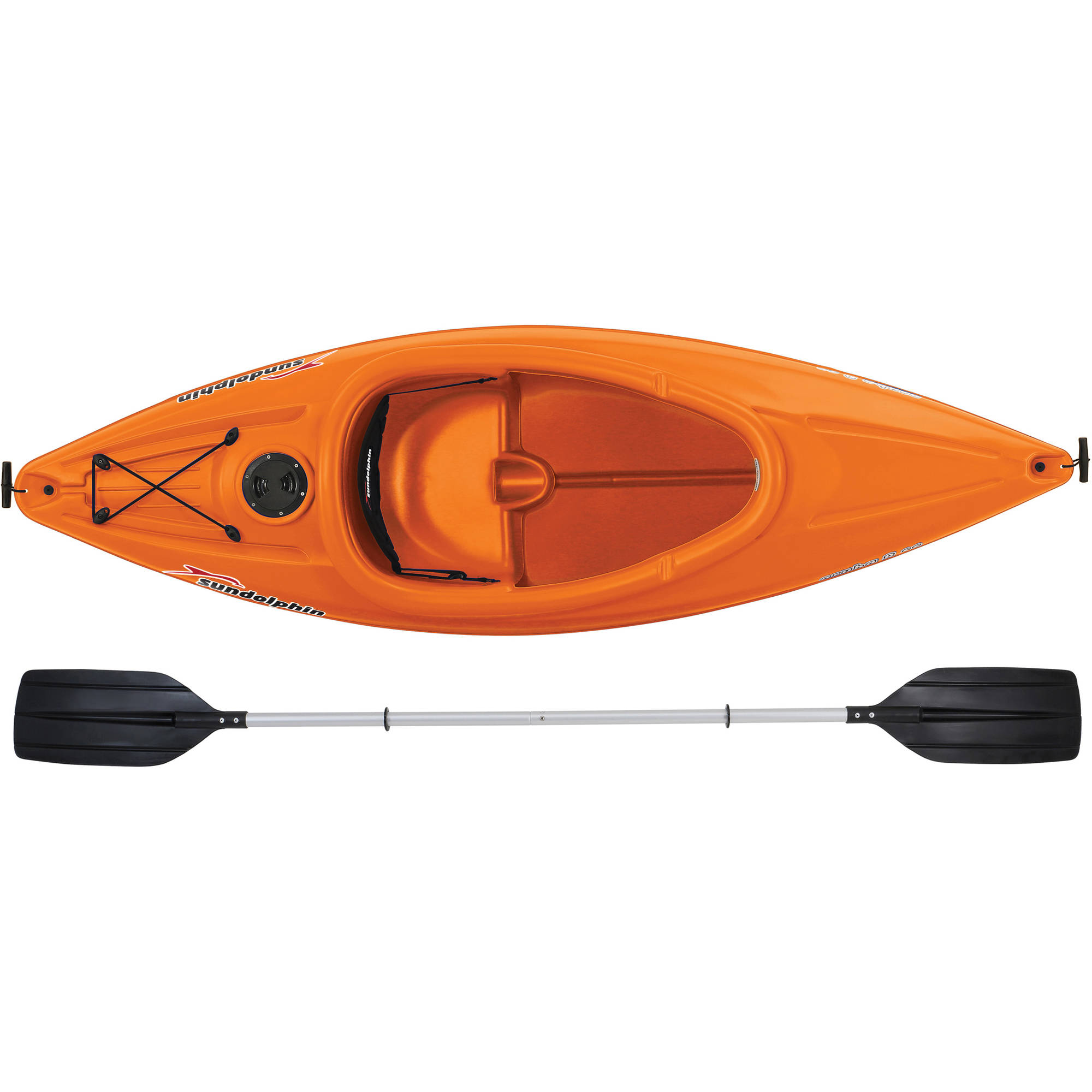 Sun Dolphin Aruba 8 Foot Ss Sit In Kayak 019862516758 Ebay