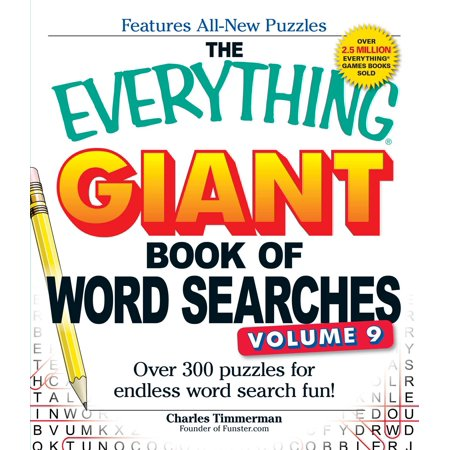 The Everything Giant Book of Word Searches, Volume 9 : Over 300 Puzzles for Endless Word Search Fun!](Easy Halloween Word Search Puzzles)