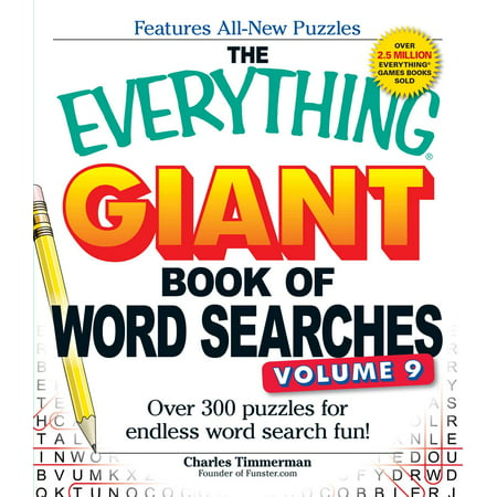 The Everything Giant Book of Word Searches, Volume 9 : Over 300 Puzzles for Endless Word Search - Giant Halloween Word Search