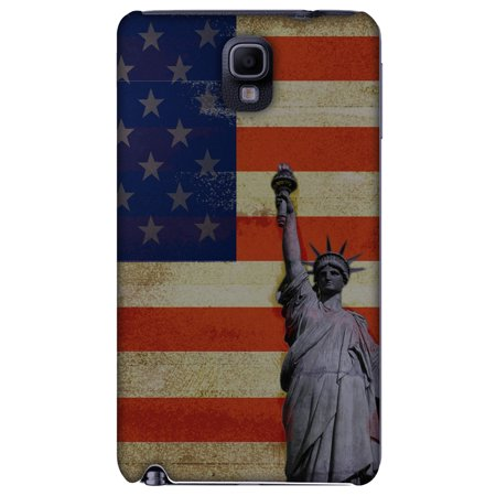Samsung GALAXY Note 3 Case, Premium Handcrafted Printed Designer Hard ShockProof Case Back Cover for Samsung GALAXY Note 3 N900 - Rustic Liberty US Flag