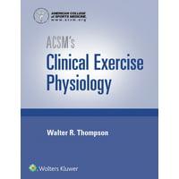 Acsm's Clinical Exercise Physiology Kit