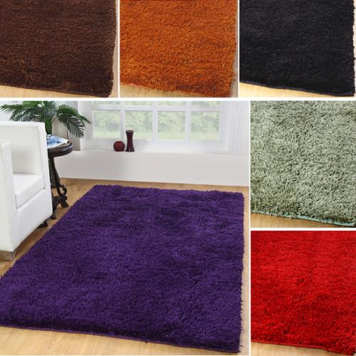 Affinity Home Collection Hand-woven  Home Shag Rug (8' x 10')