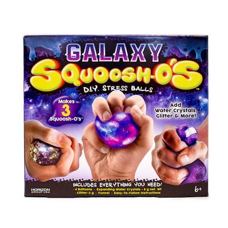 Horizon Group USA Galaxy Squoosh-O's Stress Ball Kit, 1 Each - Make Your Own Stress Balls