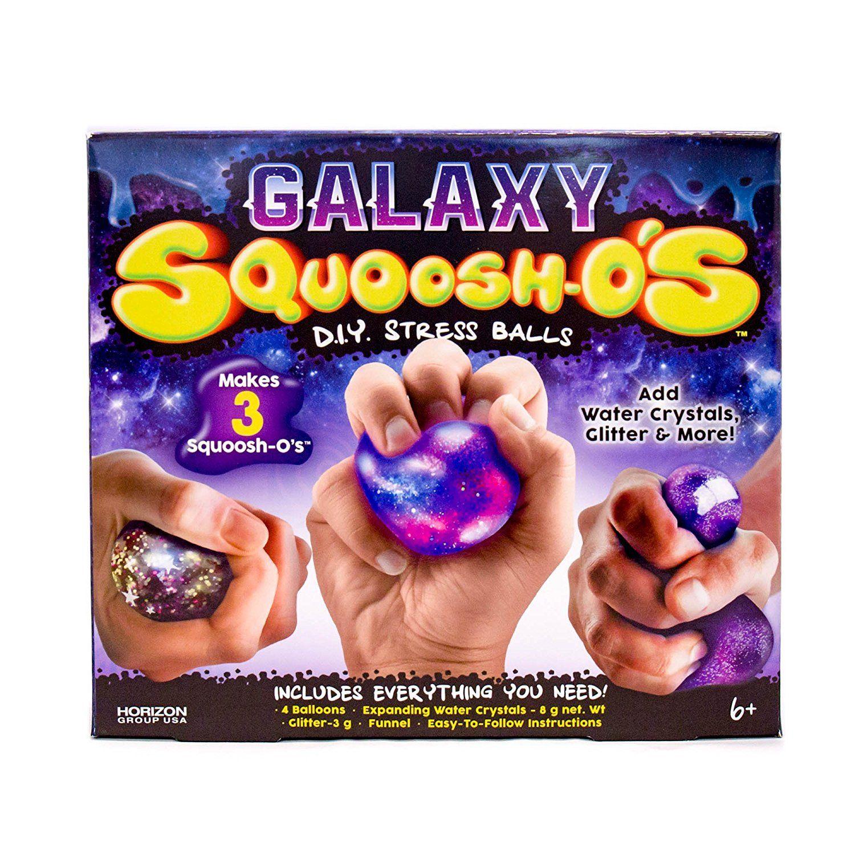 Horizon Group USA Galaxy Squoosh-O's Stress Ball Kit, 1 Each