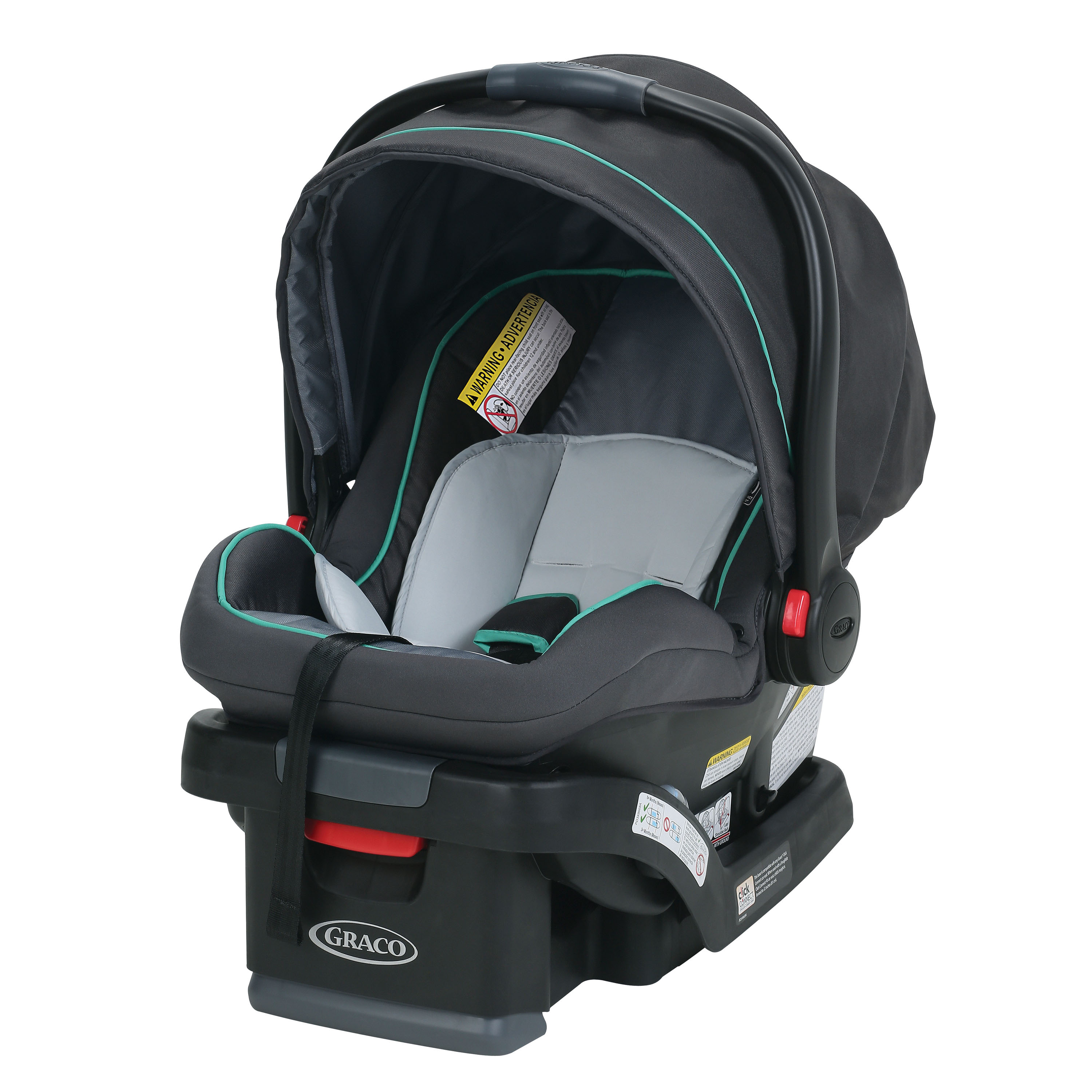Graco SnugRide SnugLock 35 Infant Car Seat, Lake Green