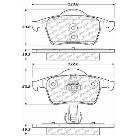 Go-Parts OE Replacement for 1999-2000 Volvo S70 Rear Disc
