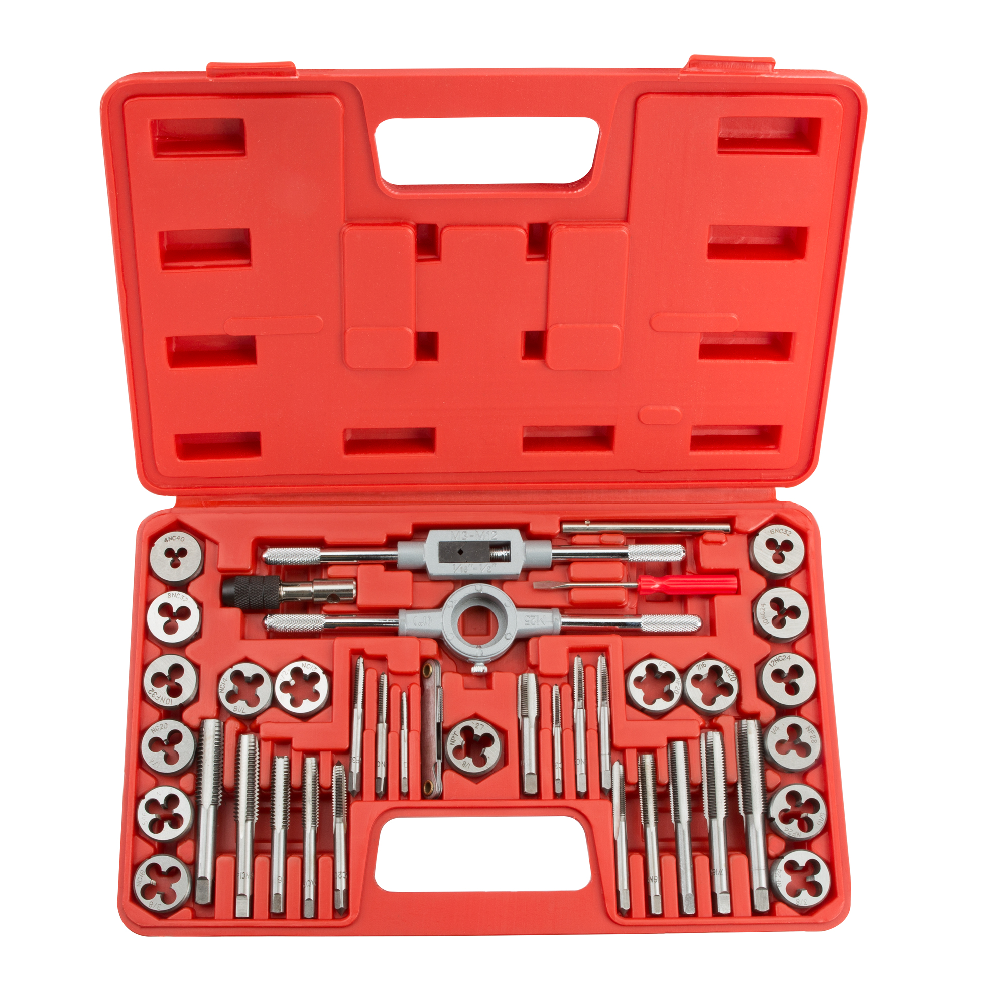 TEKTON Tap and Die Set, Inch, 39-Piece | 7558