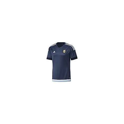 adidas Men's Argentina Away Replica Short-Sleeve Soccer Jersey, 3XL, NIGHT MARINE/WHITE