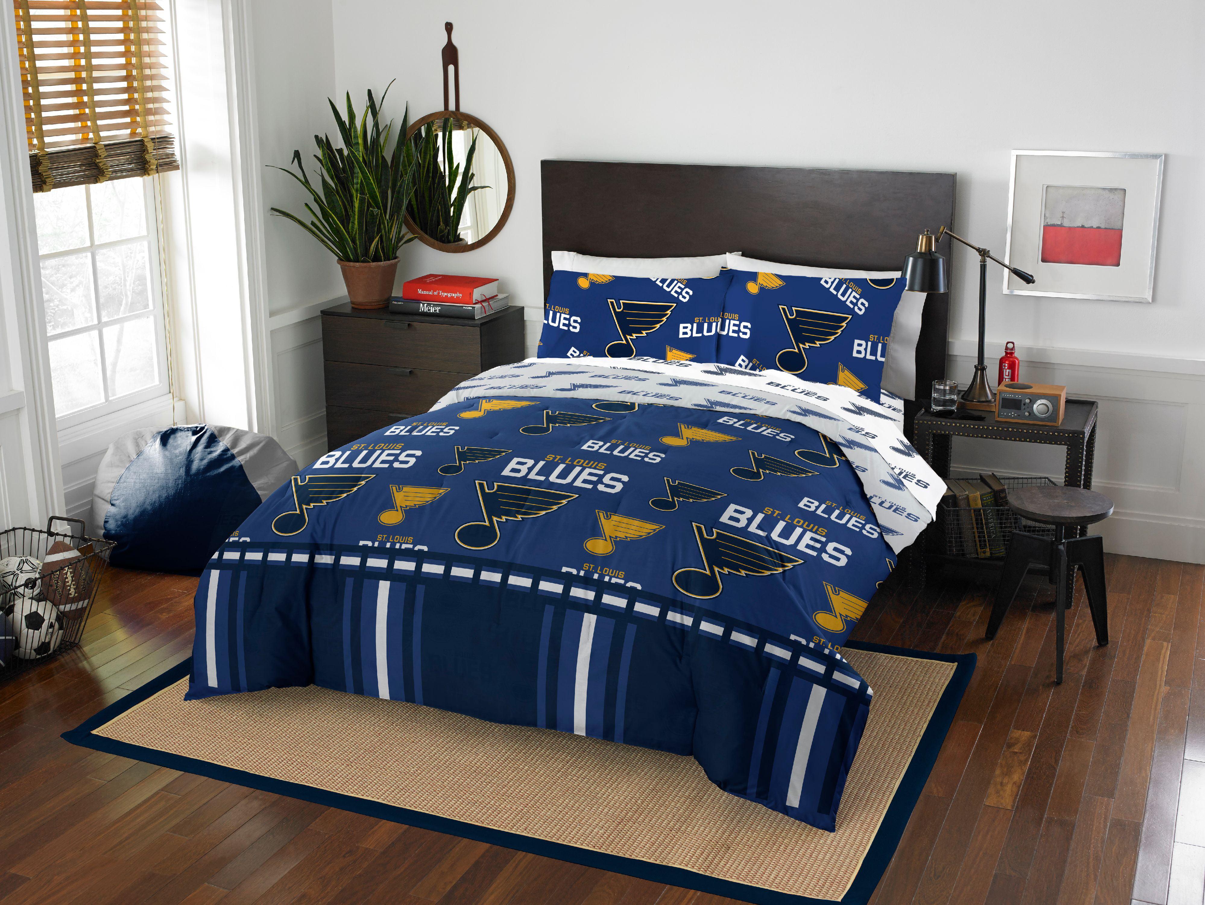 St. Louis Blues Queen Bed In Bag Set - Walmart.com