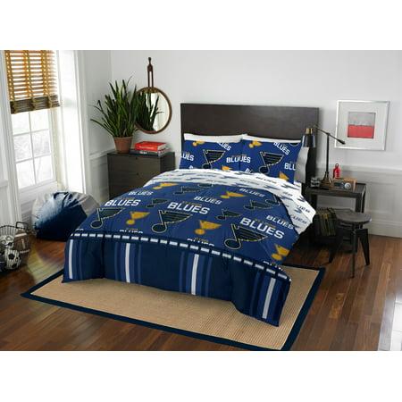 St. Louis Blues Queen Bed In Bag Set