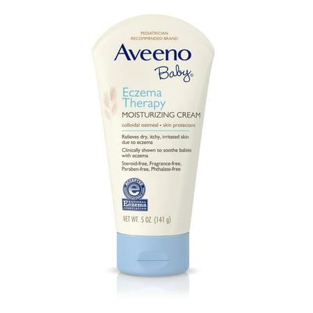 Aveeno Baby Eczema Therapy Moisturizing Cream For Dry Skin, 5 Oz.