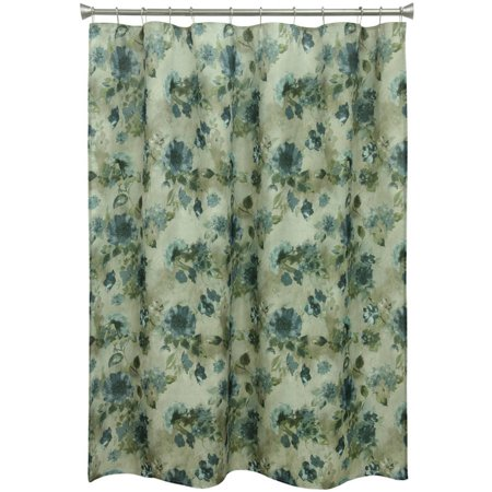 Click here for Bacova Guild Navy Floral Shower Curtain prices