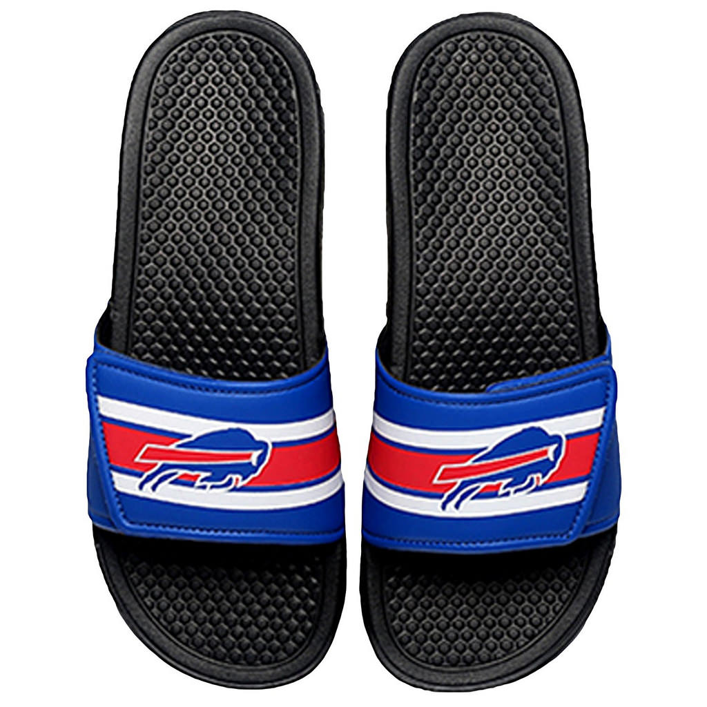 4f1c32c4f FC - Buffalo Bills Men's Legacy Shower Sport Slide Flip Flop Sandals -  Walmart.com
