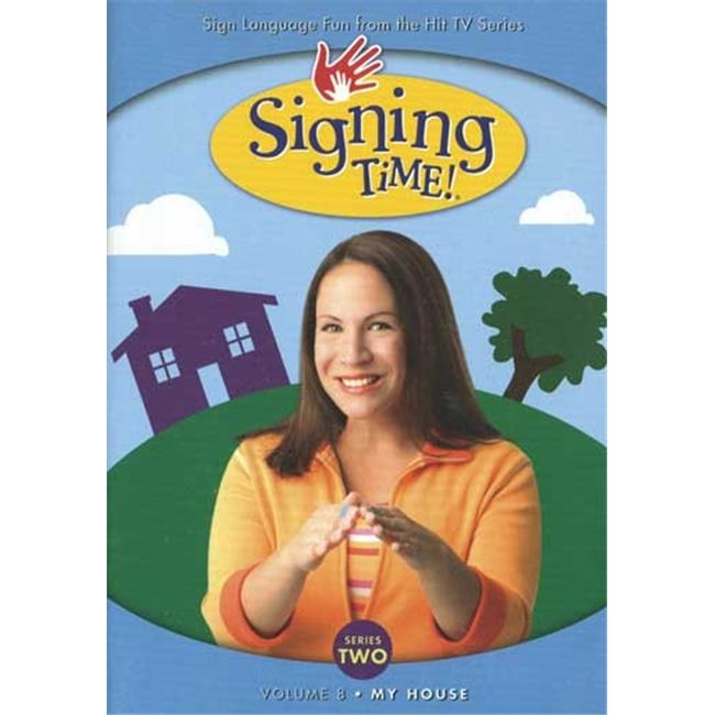 Harris Communications DVD269 Signing Time Series 2 Volume 8 - My House - DVD