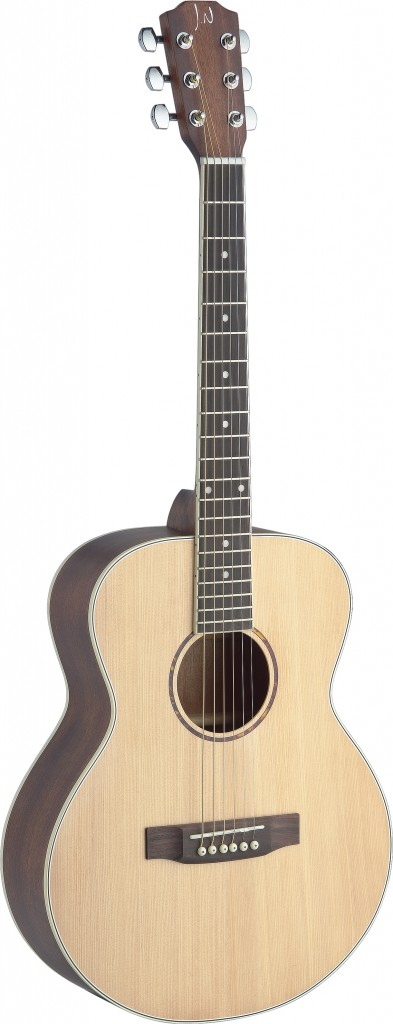 James Neligan ASY-A MINI Asyla Series Auditorium Acoustic Travel Guitar by James Neligan