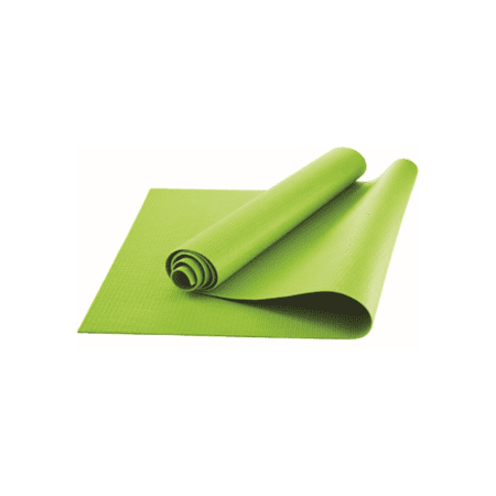 Athletic Works Yoga Mat, Lime Green, 3mm