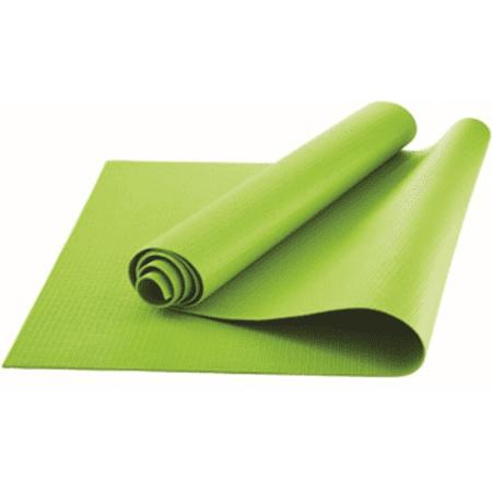 Athletic Works Yoga Mat Lime Green 3mm Walmart Com
