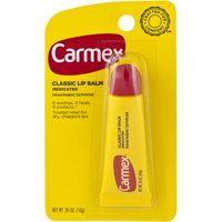 Carmex Original Moisturizing Medicated Lip Balm, 0.35 Ounce Tube