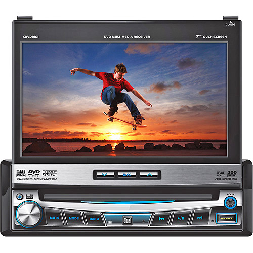 Dual xdvd9101 dvd receiver display 7 in in dash unit full ford stereo wiring harness dual xdvd9101 dvd receiver display 7 in in dash unit full din walmart com