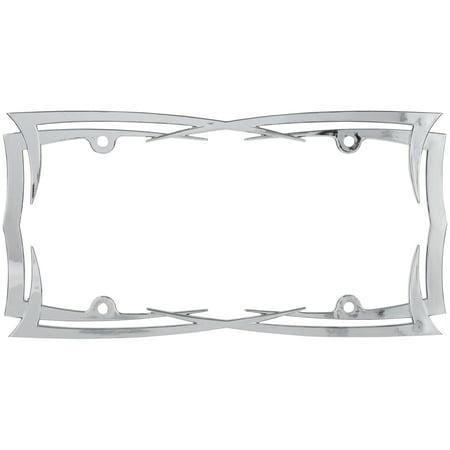 - Cruiser Accessories® Blades⢠License Plate Frame