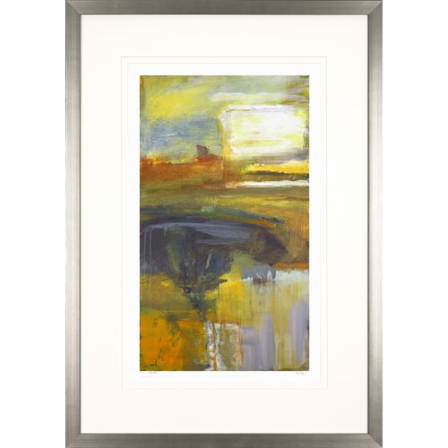 Art Virtuoso Abstract Landscapes by Mark Fetty Framed Painting Print