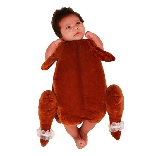 princess paradise baby's little turkey deluxe costume, as shown, (Children's Turkey Costume)