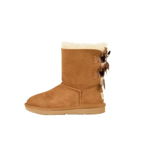 3bf333b937c kids ugg bailey bow ii boot chestnut brown 1017394k-che