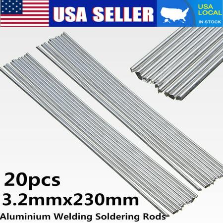 20PCS 3.2x230mm Low Temperature Aluminium Welding Soldering Brazing Repair