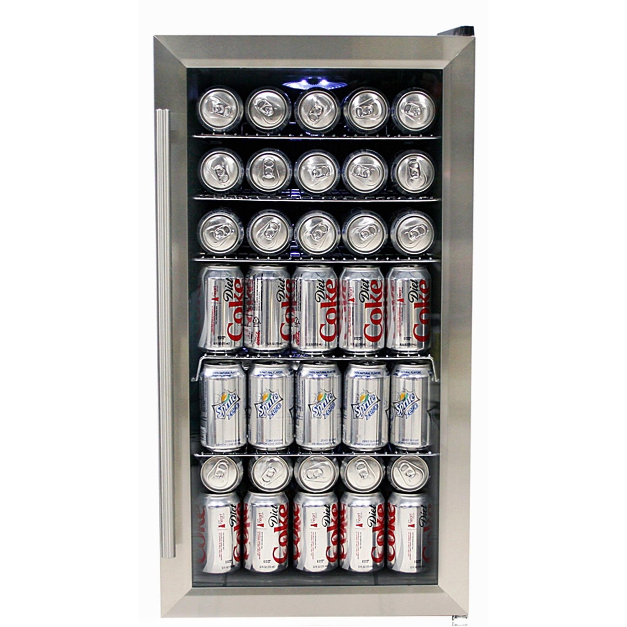 Whynter BR 125SD Stainless Steel Beverage Refrigerator Walmart