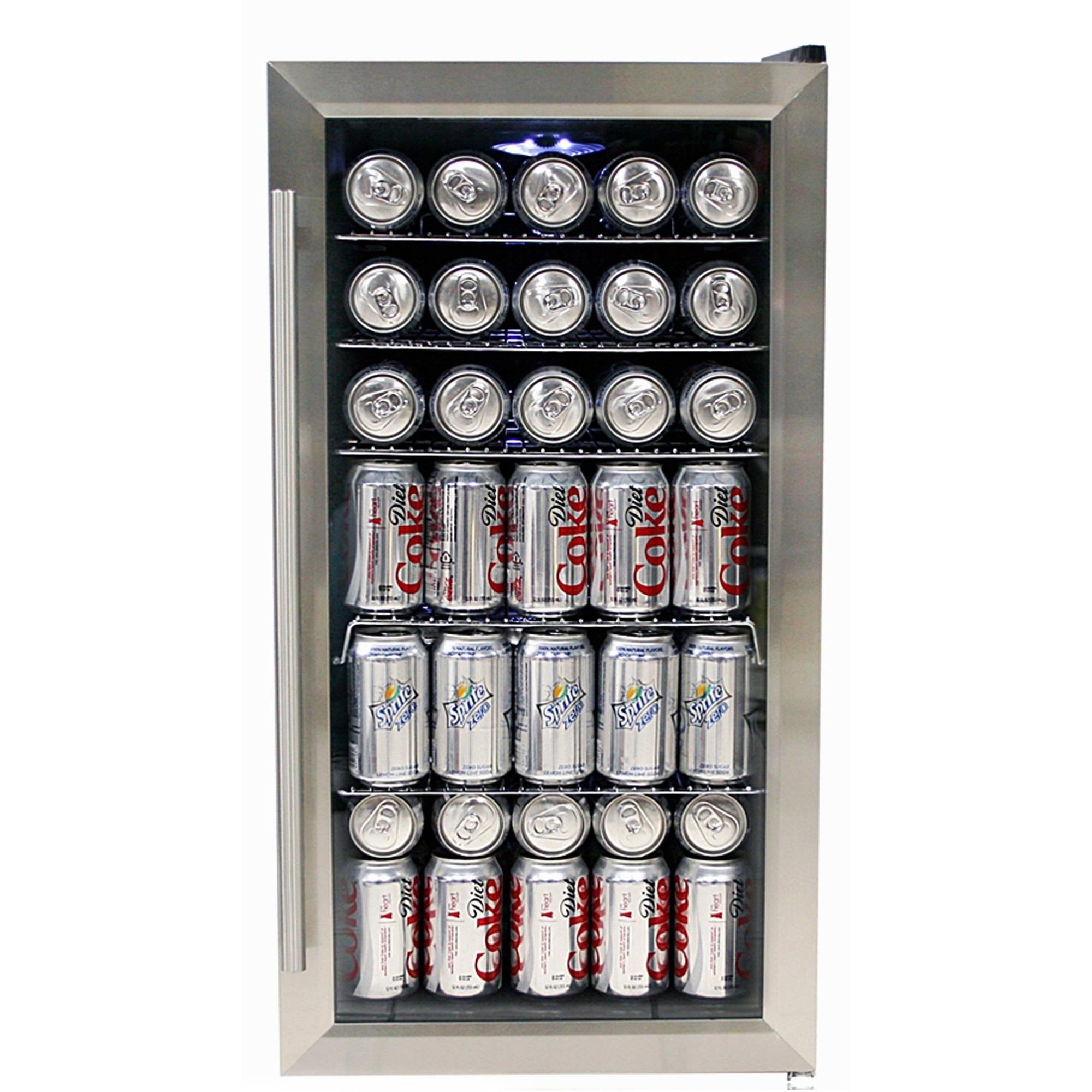Whynter BR-125SD Stainless Steel Beverage Refrigerator