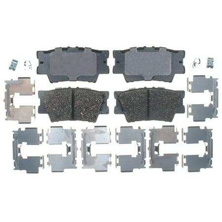AC Delco 17D1212CH Brake Pad Set, Ceramic OE Replacement