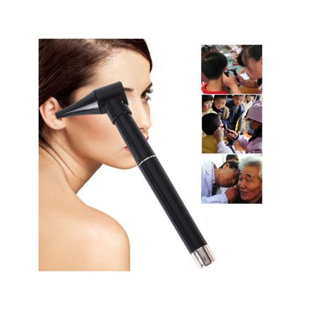 Topumt Home Ear Nose Care Inspection Scope Lighted Pen Style Otoscope for Nose Throat