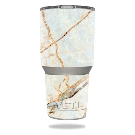 Skin For YETI 30 oz Tumbler - Antique Marble | MightySkins Protective, Durable, and Unique Vinyl Decal wrap cover | Easy To Apply, Remove, and Change Styles