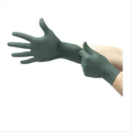 - Microflex DFK608M Dura Flock Flock-Lined Industrial-Grade Gloves, Dark Green, Medium