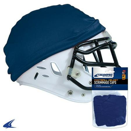 CHAMPRO Football Helmet Scrimmage Cap Navy (Best Navy Football Helmets)