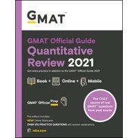 GMAT Official Guide Quantitative Review 2021, Book + Online Question Bank (Paperback)