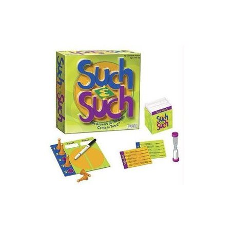 Such & Such Game By Patch Products Inc Ship from US