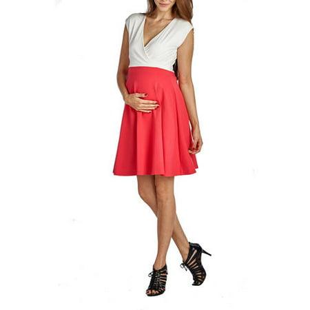 a54b0bd6fdc72 Mommylicious - Mommylicious Maternity Sailor Colorblock - Walmart.com