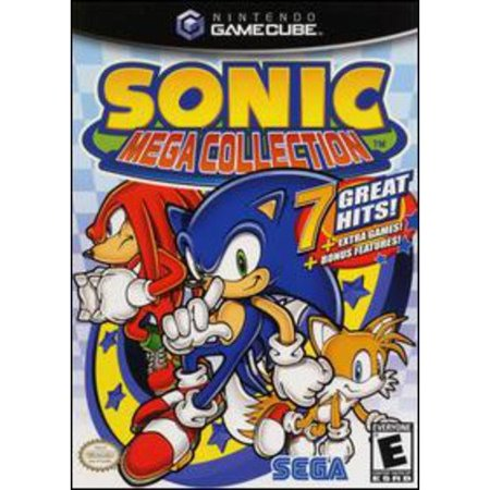 SEGA Sonic Mega Collection GameCube (Best Japanese Gamecube Games)