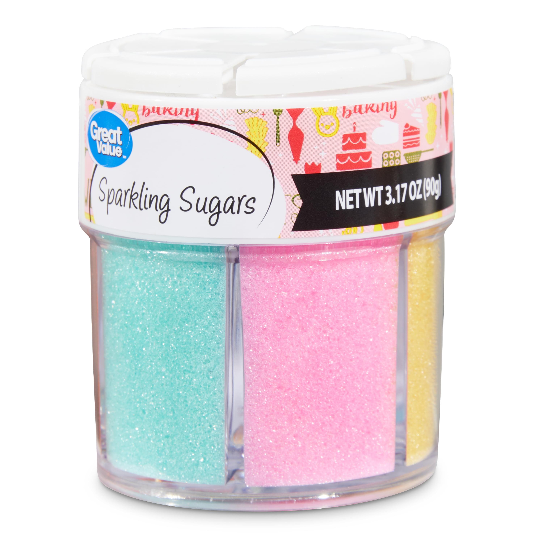 Great Value Assorted Easter Sparkling Sugars, 3.17 oz.