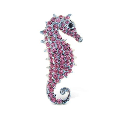 Horse Rectangle Magnet - Sparkling Magnets Sea Horse