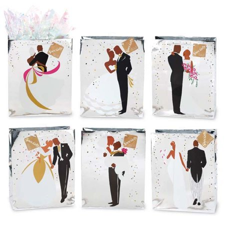 FLOMO Large African Wedding Promises Gift Bags - Assorted](Wedding Gift Bags)