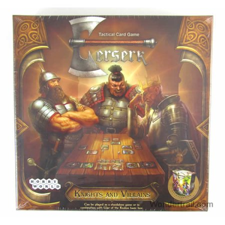 Knights and Villains Berserk Expansion Tactical Card Game