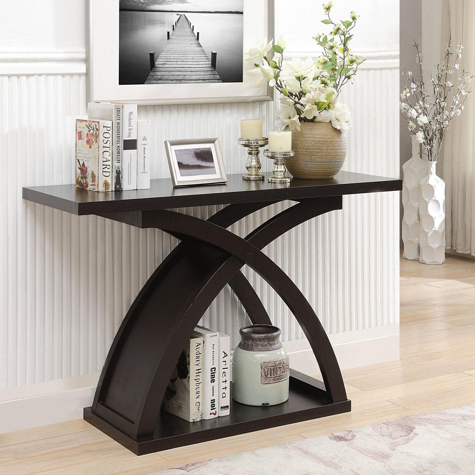 Furniture of America Leonard Sofa Console Table