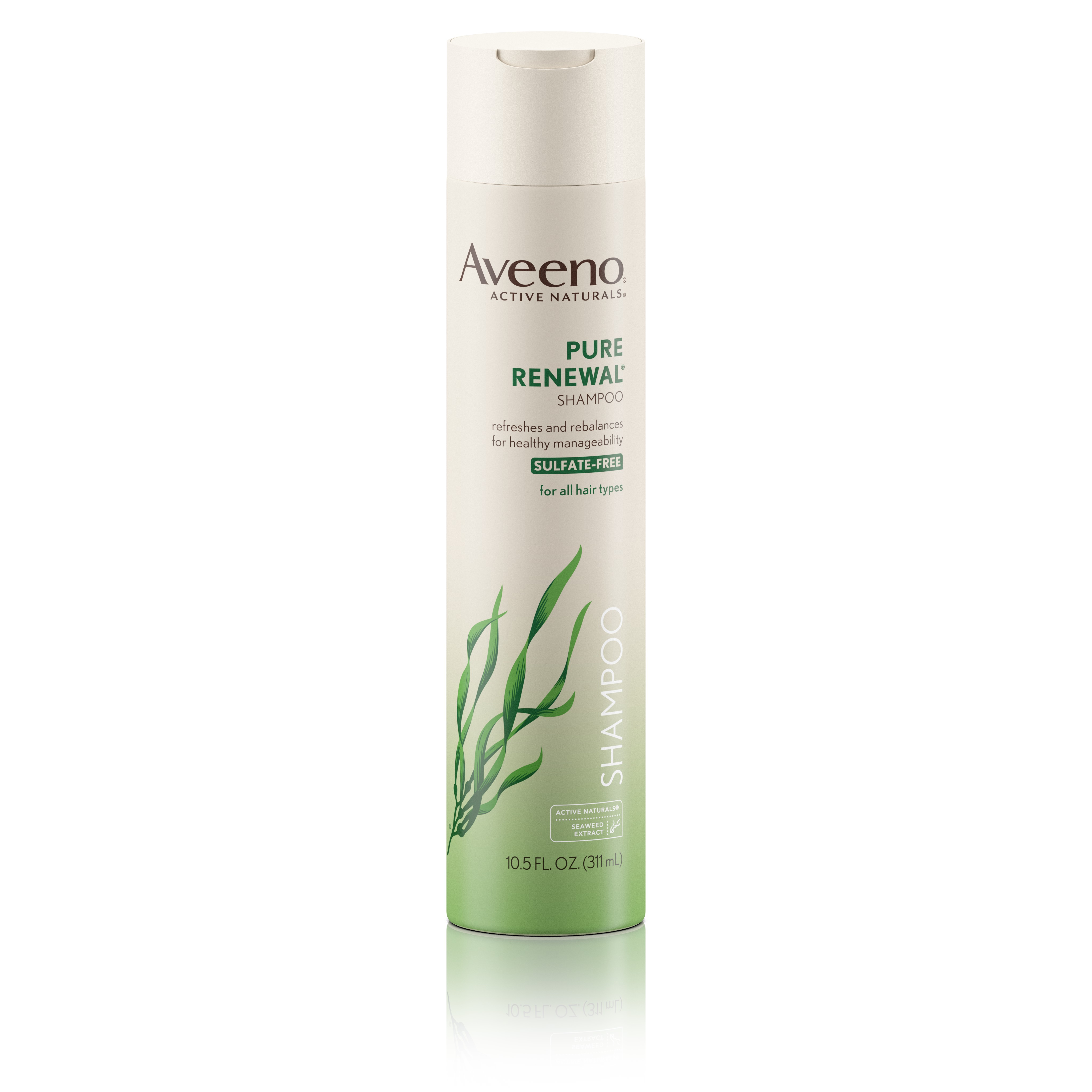 Aveeno Active Naturals Pure Renewal Shampoo, 10.5 Oz - Walmart.com