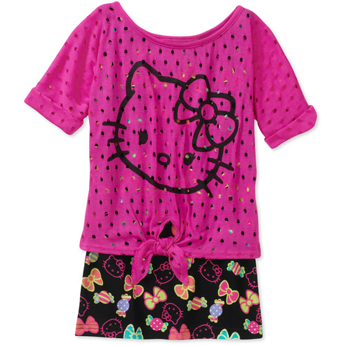 Hello Kitty Girls' Fashion Top