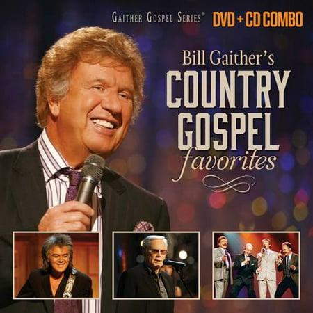 Bill Gaither's Country Gospel Favorites (Walmart Exclusive) (CD/DVD)