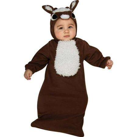 Reindeer Baby Bunting Costume - Make Reindeer Costume