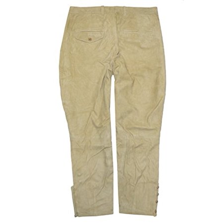 Ralph Lauren Women Desert Explorer Suede Pants (6, Light Tan) Baby Girl Ralph Lauren Pants