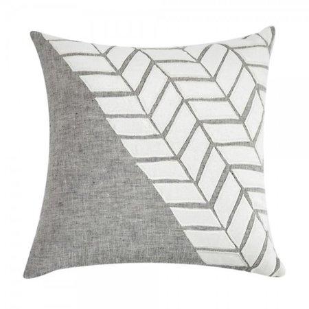 Throw Pillow Filling : Filling Spaces Applique Linen Throw Pillow - Walmart.com